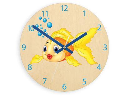 Zegar scienny Złota Rybka
