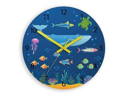 Zegar scienny Zwierzeta Oceanu