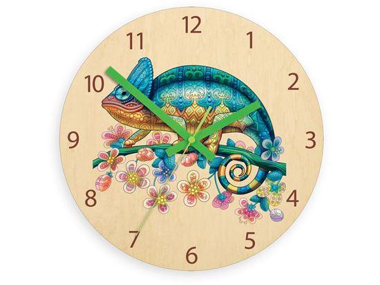Zegar ścieny Kameleon