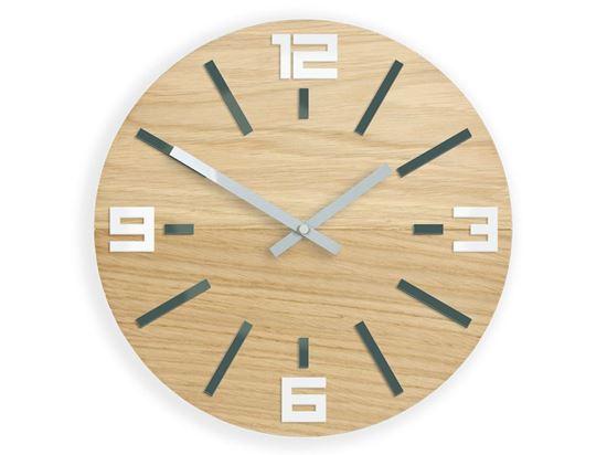 Zegar ścienny Marco Szaro- Biały