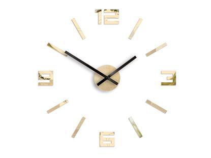 Zegar ścienny Arabik  Złote Lustro