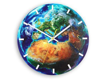 Zegar ścienny Globe- Świat