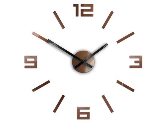 Zegar ścienny Arabic Metalic Copper