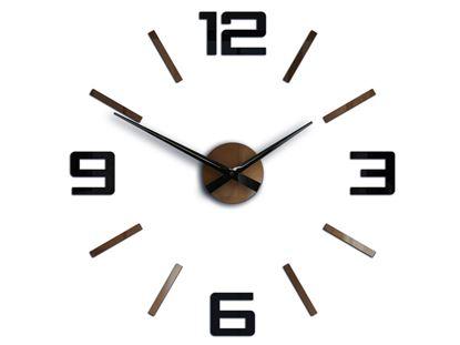 Zegar ścienny Silver XL Metalic Copper & Black