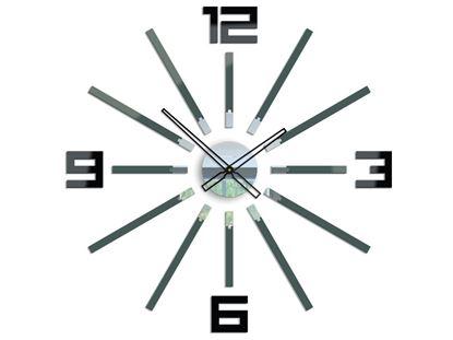 Zegar ścienny Briliant Szary