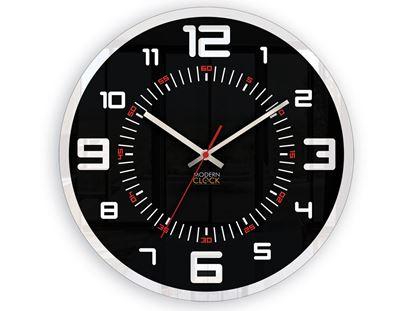 Zegar ścienny Orion Czarny