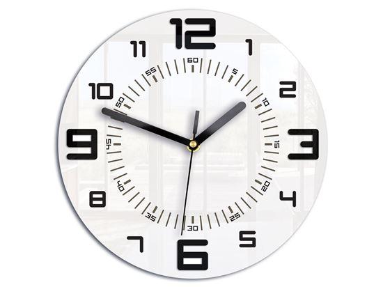 Zegar scienny Armando czarny