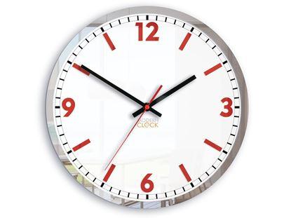 Zegar ścienny Solar czerwony