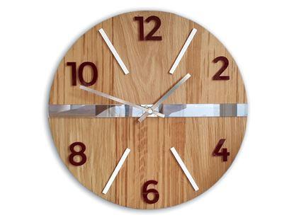 Zegar ścienny drewniany Luxury