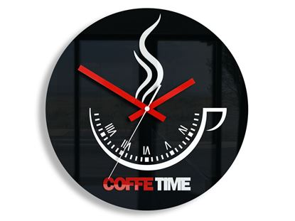Zegar ścienny Coffee Time ver.II