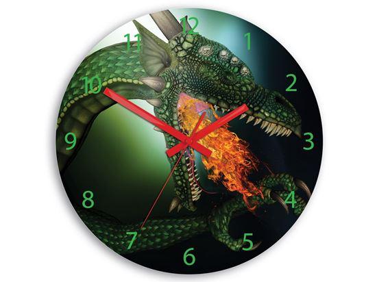 Zegar dziecięcy Dragon - Smok