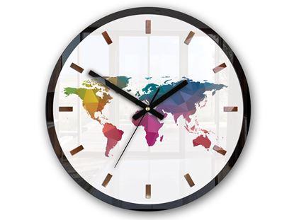 Zegar ścienny Map