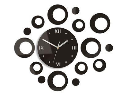 Zegar ścienny Ring Wenge