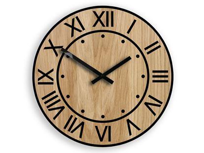 Zegar ścienny drewniany ARTUR