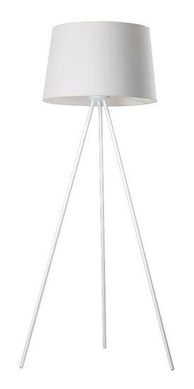 Lampa stojąca Lea biała