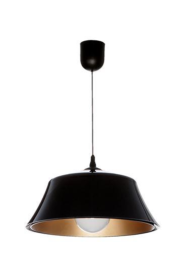 Lampa wisząca Milo czarny-złoty