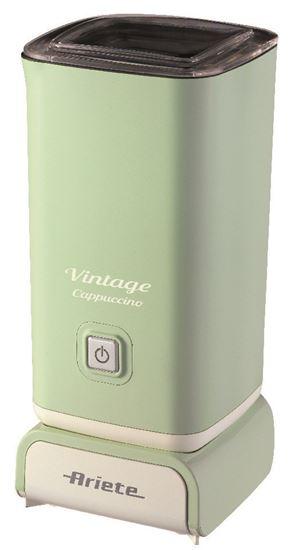 Spieniacz do mleka, 500W, spienianie na ciepło i na zimno, linia Vintage