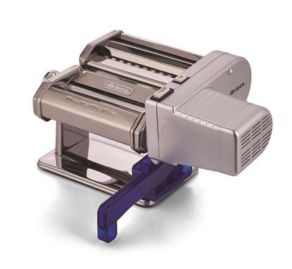 Urządzenie do produkcji makaronu za pomocą kolby lub silnika