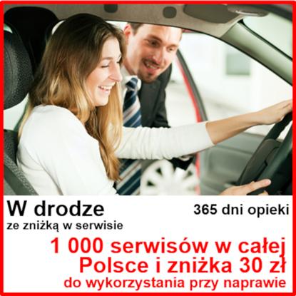 2. Pakiet Moto ze Zniżką - 30 zł na naprawę