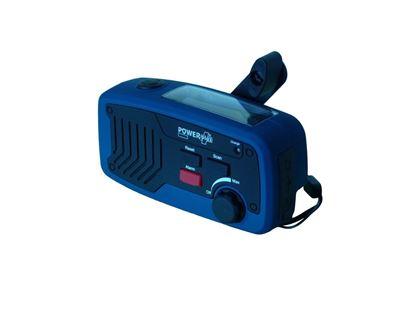 POWERplus Panther - 5 funkcji w 1 urządzeniu: radio, ładowarka, bank energii, latarka, alarm dźwiękowy