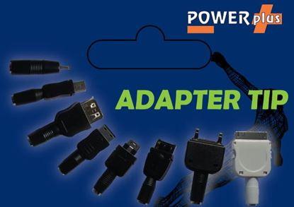 POWERplus Adapters - końcówki do ładowarek