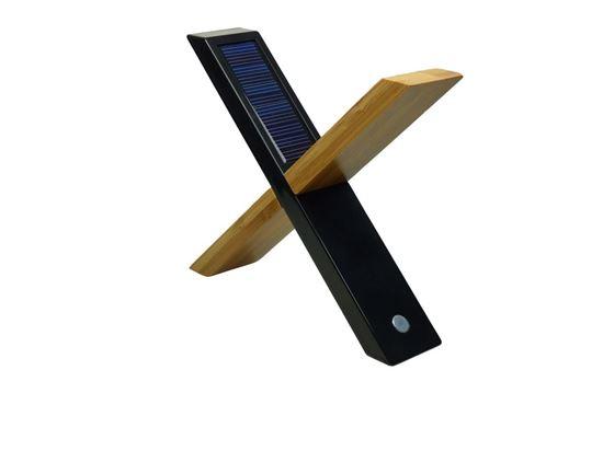 POWERplus Sphynx - wielofunkcyjna solarna biurkowa lampka LED