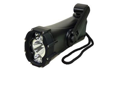 POWERplus Shark - wodoszczelna ładowarka i latarka LED