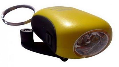 POWERplus Bee - niezawodna latarka w breloku na dynamo
