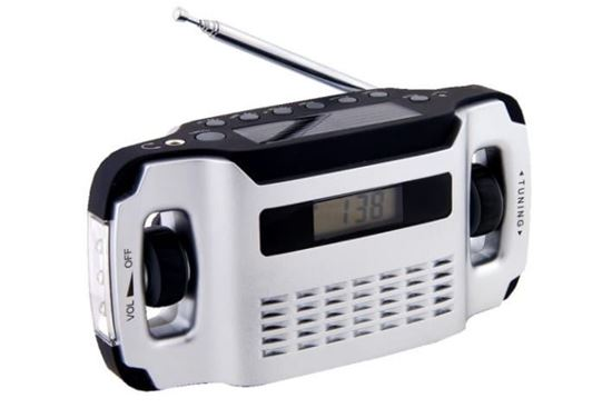 POWERplus Lynx - radio zasilane solarnie i na dynamo