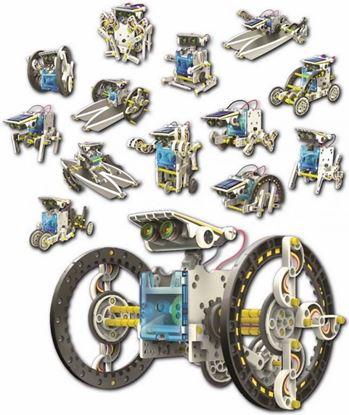 POWERplus Rabbit - zestaw 14 modeli zabawek solarnych w 1 opakowaniu