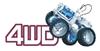 POWERplus Thunderbird - zabawka monster truck z ogniwem na słoną wodę