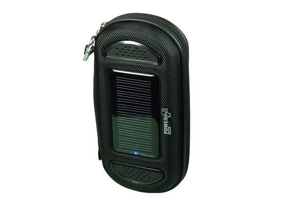 POWERplus Jaguar - zasilane solarnie i USB etui z akumulatorem i zewnętrznymi głośnikami