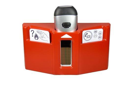POWERplus Husky - zestaw ratunkowy z latarką LED zasilaną solarnie i na dynamo