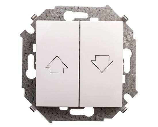 Simon 15 Przycisk żaluzjowy z blokadą elektryczną 1591335-030