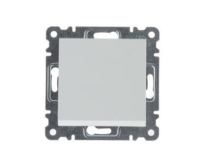 LUMINA2 Przycisk pojedynczy biały WL0110
