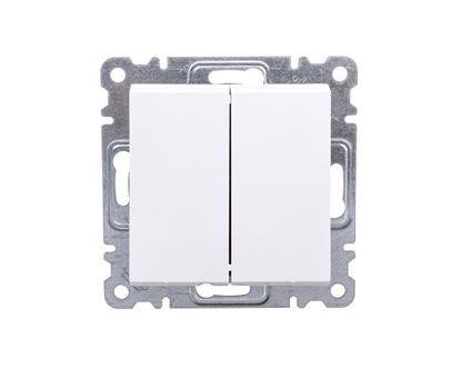 LUMINA2 Łącznik schodowy podwójny biały WL0050