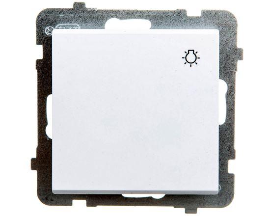 SONATA Przycisk /światło/ biały ŁP-5R/m/00