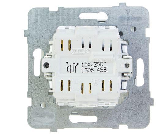 AS Łącznik żaluzjowy biały ŁP-7G/m/00