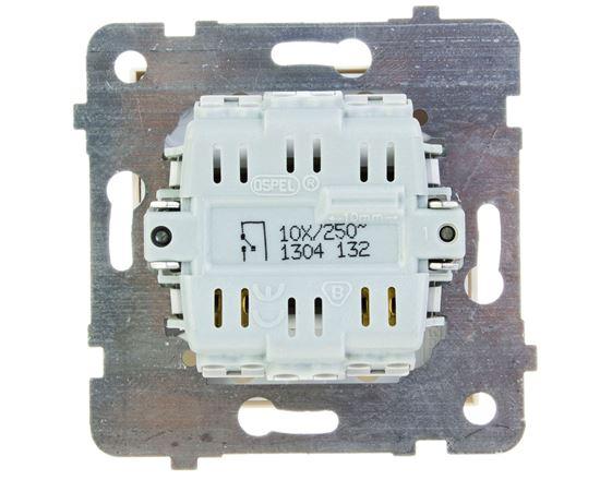 AS Przycisk /światło/ z podświetleniem ecru ŁP-5GS/m/27