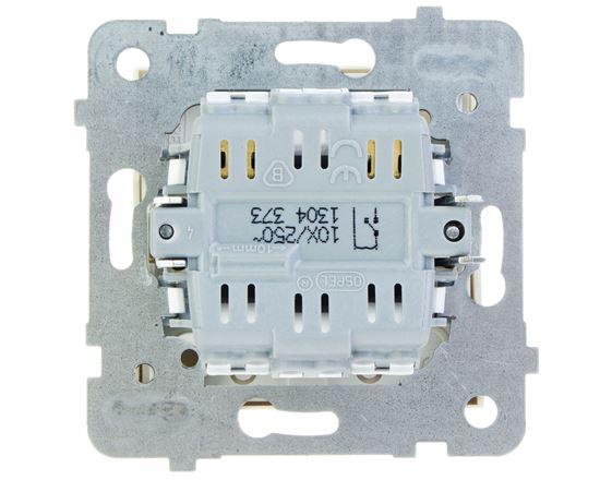 AS Przycisk /światło/ ecru ŁP-5G/m/27