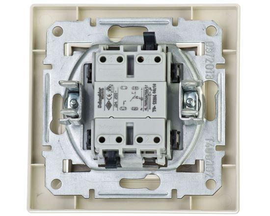 ASFORA Przycisk dzwonek z podświetleniem kremowy EPH1700123