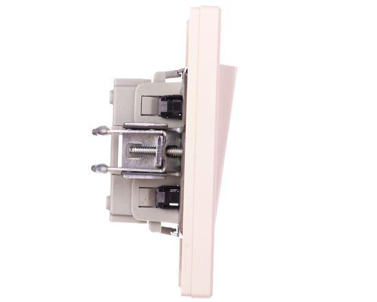 ASFORA Łącznik pojedynczy zaciski śrubowe kremowy EPH0100323