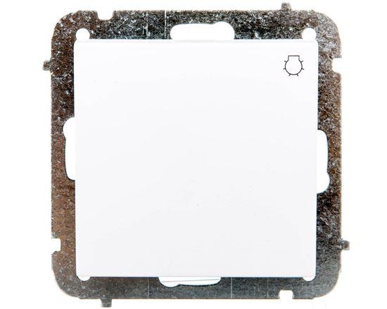 """Sentia Przycisk zwierny """"światło"""" 10A biały 1413-10"""