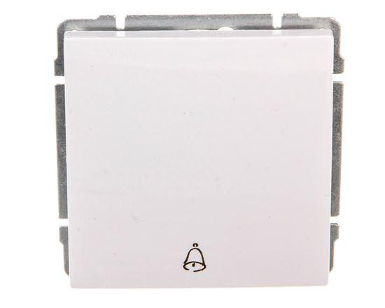 KOS66 Przycisk /dzwonek/ biały 660414
