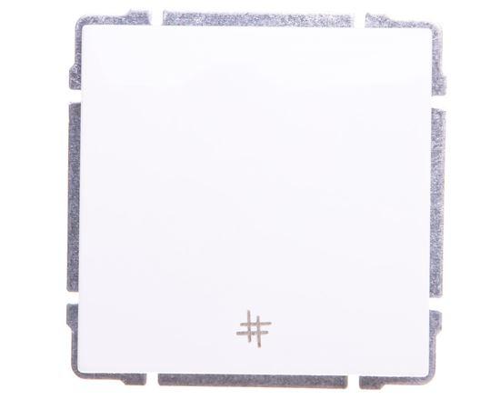 KOS66 Łącznik krzyżowy biały 660417