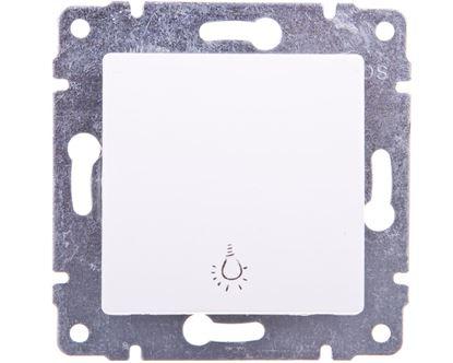 VENA Przycisk /światło/ biały 510413