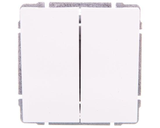 KOS66 Łącznik świecznikowy biały 660415