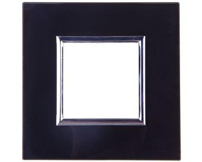 DANTE Ramka pojedyncza szkło BLACK GLASS 4509181