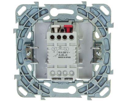 Unica Plus Przycisk światło z podświetlaniem biel polarna MGU50.206.18LNZ