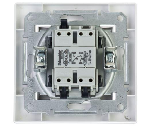 ASFORA Przycisk żaluzjowy biały  EPH1300121